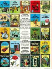 Verso de Tintin (Historique) -20C3bis- Tintin au Tibet