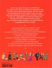 Verso de Tintin - Divers -60- Les Personnages de Tintin dans l'Histoire