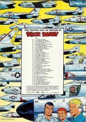 Verso de Buck Danny -24c78- Prototype FX-13
