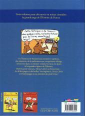 Verso de L'histoire de France en BD (Joly/Heitz) -1- De la préhistoire... à l'an mil !