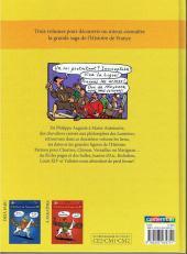 Verso de L'histoire de France en BD (Joly/Heitz) -2- Du Moyen Âge... à la Révolution !
