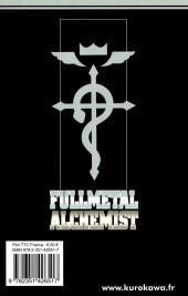 Verso de FullMetal Alchemist -27- Tome 27