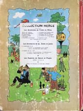 Verso de Tintin (Historique) -16B11- Objectif lune