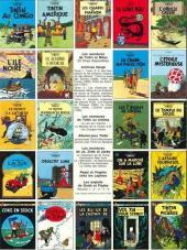 Verso de Tintin (Historique) -17C3ter- On a marché sur la lune