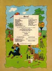 Verso de Tintin (Historique) -12B41- Le trésor de Rackham Le Rouge