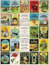 Verso de Tintin (Historique) -17C3- On a marché sur la lune