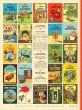 Verso de Tintin (Historique) -7C4- L'île noire