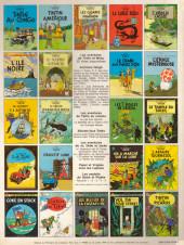Verso de Tintin (Historique) -10C4- L'étoile mystérieuse