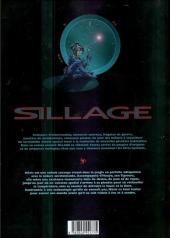 Verso de Sillage -1a2001- A feu et à cendres