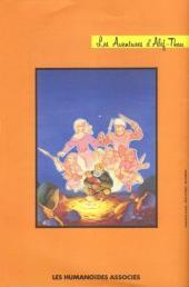 Verso de Les aventures d'Alef-Thau -SUP- La fleur de l'asiamar
