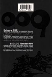 Verso de Cyborg 009 -8- Tome 8