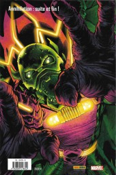 Verso de Annihilation -2- Les hérauts de Galactus