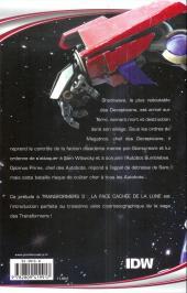 Verso de Transformers (Fusion Comics) -4- La Face cachée de la Lune - La Tempête