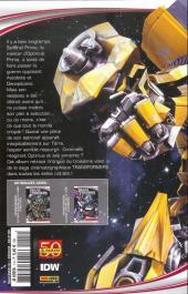 Verso de Transformers -HS- La face cachée de la lune - La BD officielle du film