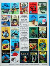 Verso de Tintin (Historique) -4C4- Les cigares du pharaon