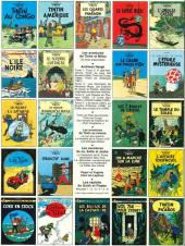 Verso de Tintin (Historique) -5C5- Le lotus bleu