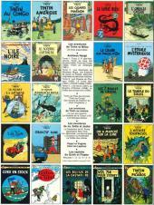 Verso de Tintin (Historique) -8C5- Le sceptre d'Ottokar