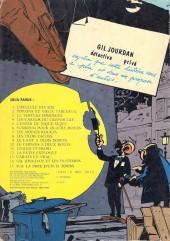 Verso de Gil Jourdan -2a1979- Popaïne et vieux tableaux
