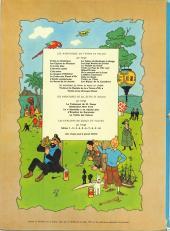 Verso de Tintin (Historique) -5B36- Le lotus bleu