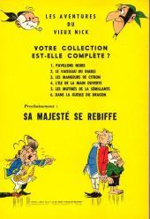 Verso de Le vieux Nick et Barbe-Noire -6a1964- Dans la gueule du dragon