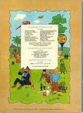 Verso de Tintin (Historique) -4B36- Les cigares du pharaon