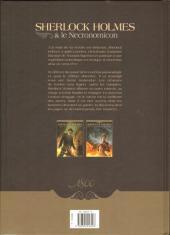 Verso de Sherlock Holmes & le Necronomicon -1- L'Ennemi intérieur