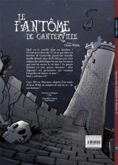 Verso de Le fantôme de Canterville (Drouin/Céka) - Le fantôme de Canterville