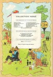 Verso de Tintin (Historique) -13B17- Les 7 boules de cristal