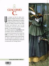 Verso de Giacomo C. -9- L'heure qui tue