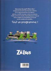 Verso de Les zélus -2- ministrose