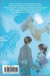 Verso de A romantic love story -10- Tome 10