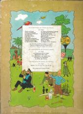 Verso de Tintin (Historique) -6B35- L'oreillle cassée
