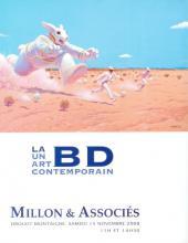 Verso de (Catalogues) Ventes aux enchères - Millon - Millon & Associés - La BD un art contemporain - Samedi 15 novembre 2008 - Paris Drouot Montaigne