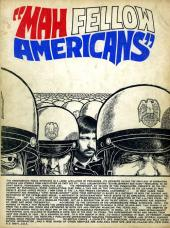 Verso de Mah Fellow Americans - Mah fellow americans