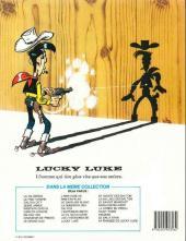 Verso de Lucky Luke -32d86- La diligence