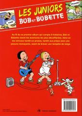 Verso de Bob et Bobette (Les Juniors) -1- Un an tout rond