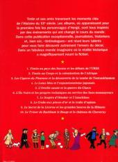 Verso de Tintin - Divers -60'- Les Personnages de Tintin dans l'Histoire