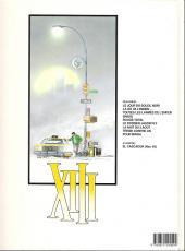 Verso de XIII -6a1992- Le dossier Jason Fly
