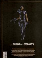 Verso de Le chant des Stryges -INTFL1- L'intégrale tomes 1 à 3
