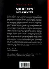 Verso de (AUT) Blutch - Moments d'égarement