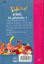 Verso de Titeuf (Bibliothèque Rose) -71777- Tchô, la planète !