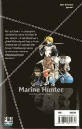 Verso de Marine Hunter -5- Vol. 5