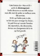 Verso de Ainsi va la vie (Bloch) -32- Emilie a déménagé