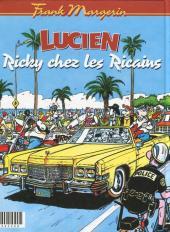 Verso de Lucien (et cie) -INTFL1- Lulu s'maque / Ricky chez les Ricains