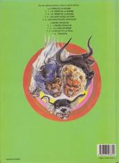 Verso de La terre de la bombe -3a1984- Les sortilèges de Perp