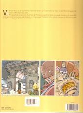 Verso de Les eaux de Mortelune -2a2002- Le café du port