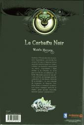 Verso de Wakfu Heroes -1- Le corbeau noir