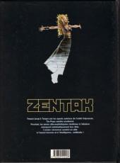 Verso de Zentak -2- Les roches bleues