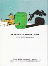 Verso de Rantanplan -4a- Le clown