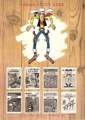 Verso de Lucky Luke -29a72- Des barbelés sur la prairie